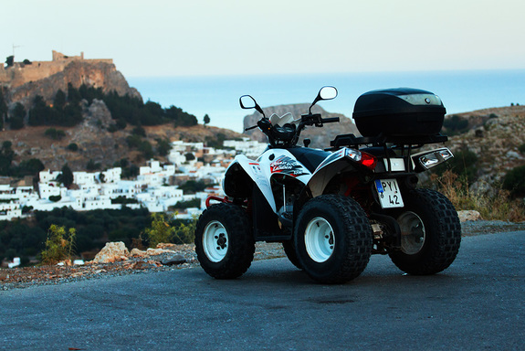 На квадроцикле по острову Родос: авто-лайфхак от Дмитрия Елизарова 8