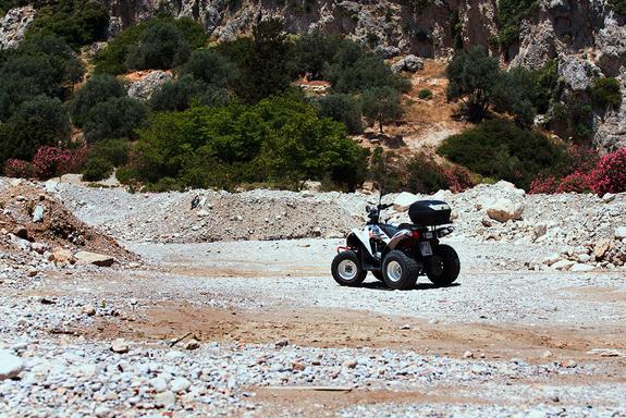 На квадроцикле по острову Родос: авто-лайфхак от Дмитрия Елизарова 12