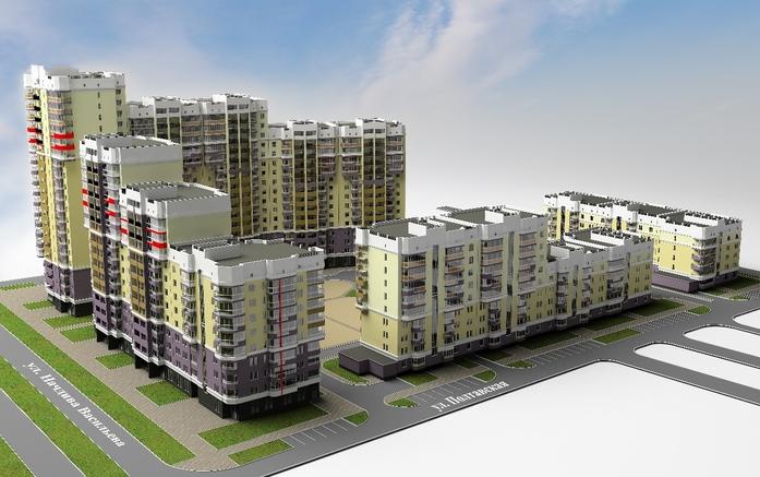 13 новых строек Екатеринбурга: Жилые проекты, начатые в 2016 г. 4