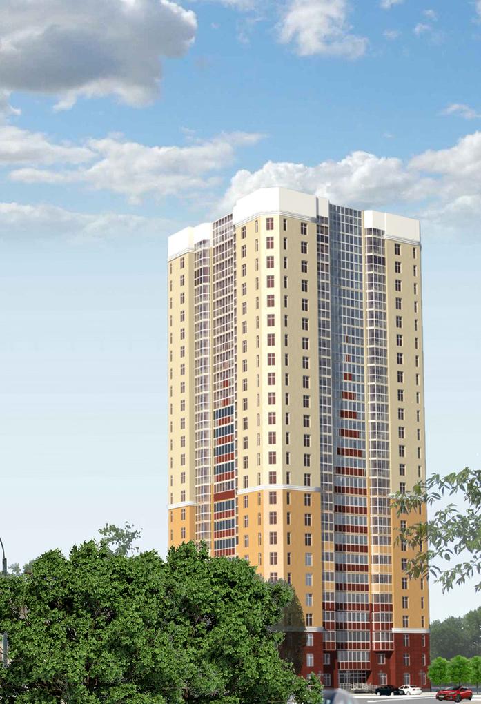 13 новых строек Екатеринбурга: Жилые проекты, начатые в 2016 г. 5