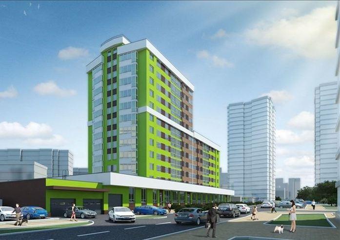 13 новых строек Екатеринбурга: Жилые проекты, начатые в 2016 г. 8