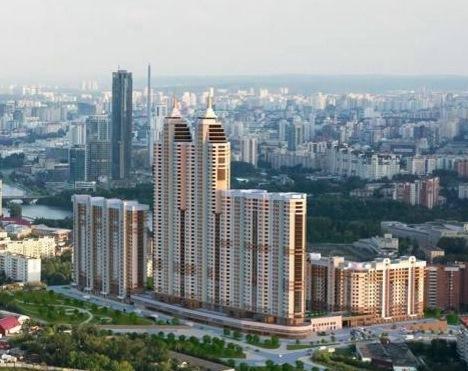 13 новых строек Екатеринбурга: Жилые проекты, начатые в 2016 г. 9