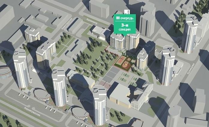 13 новых строек Екатеринбурга: Жилые проекты, начатые в 2016 г. 11