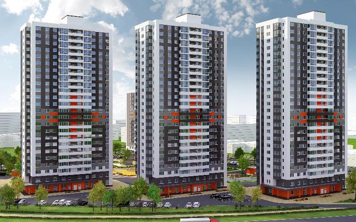 13 новых строек Екатеринбурга: Жилые проекты, начатые в 2016 г. 12