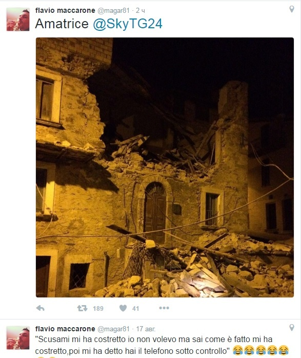 Землетрясение в Италии: половины города Аматриче не стало, погибло 14 человек 1