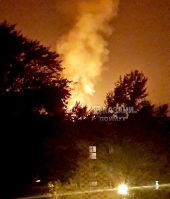 В Казани снова произошел пожар на пороховом заводе 1
