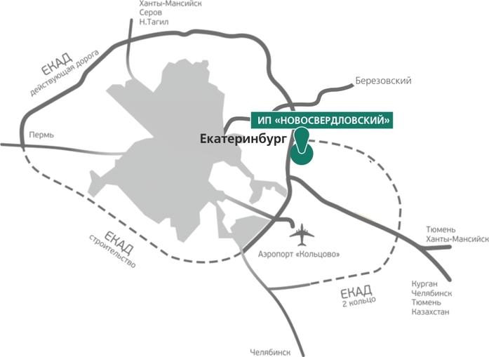 Для строительства индустриального парка «Новосвердловский» будет вырублено 500 га леса 1