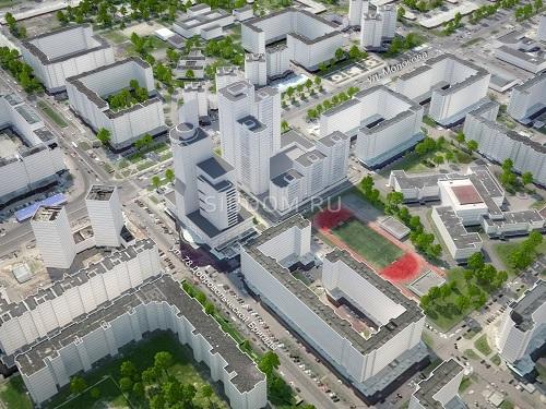В Красноярске построят жилой комплекс в соавторстве с московскими архитекторами  1