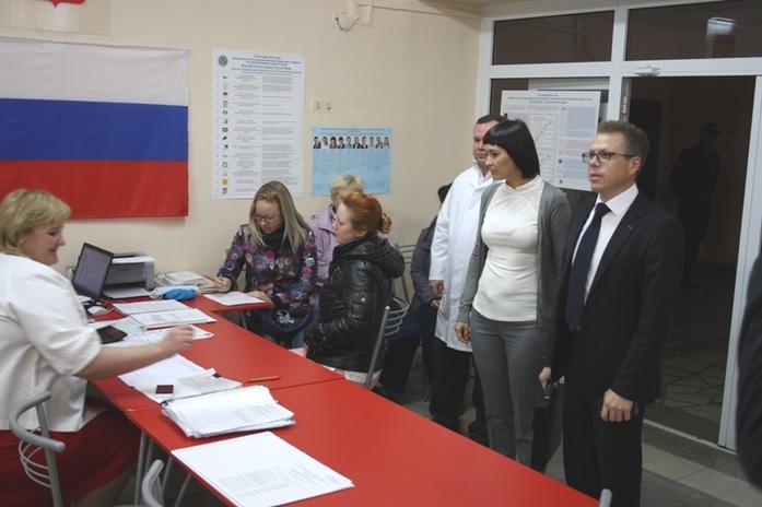 На нескольких избирательных участках Челябинска прошли проверки 1