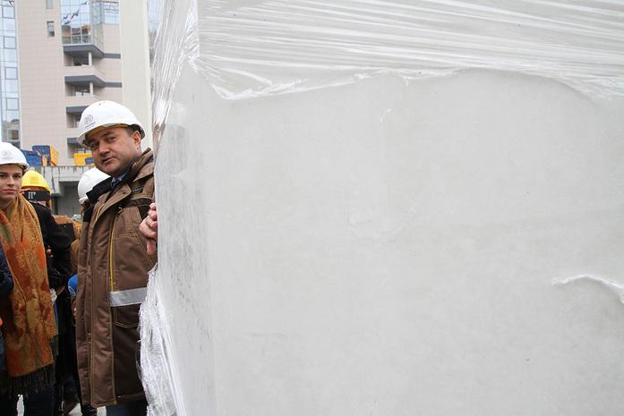 Изнанка штаб-квартиры РМК: Как строят первый в России объект Нормана Фостера / ФОТО 2