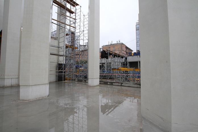 Изнанка штаб-квартиры РМК: Как строят первый в России объект Нормана Фостера / ФОТО 3
