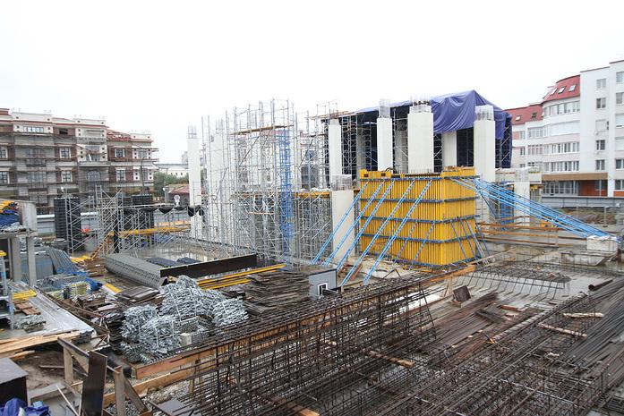 Изнанка штаб-квартиры РМК: Как строят первый в России объект Нормана Фостера / ФОТО 6