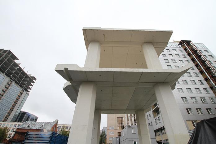 Изнанка штаб-квартиры РМК: Как строят первый в России объект Нормана Фостера / ФОТО 9