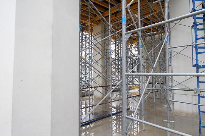 Изнанка штаб-квартиры РМК: Как строят первый в России объект Нормана Фостера / ФОТО 11