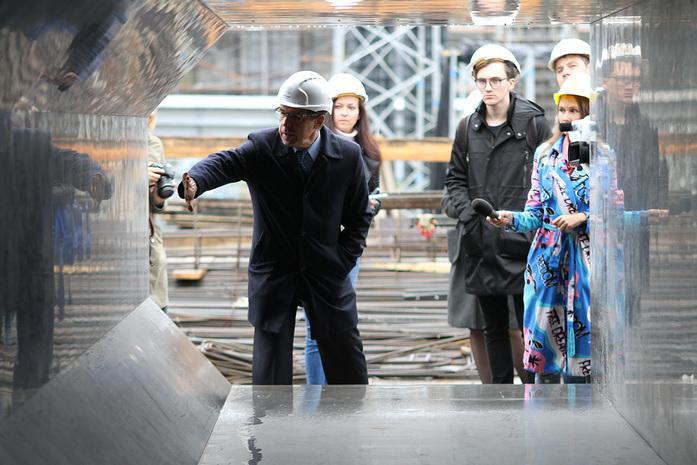 Изнанка штаб-квартиры РМК: Как строят первый в России объект Нормана Фостера / ФОТО 12