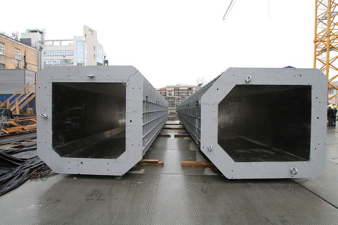 Изнанка штаб-квартиры РМК: Как строят первый в России объект Нормана Фостера / ФОТО 13