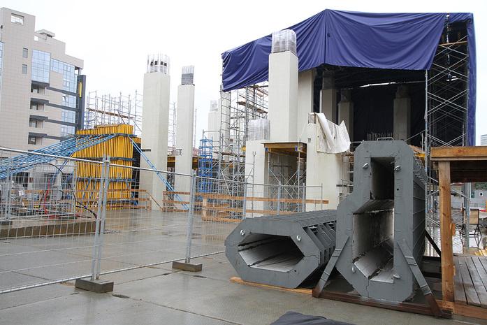 Изнанка штаб-квартиры РМК: Как строят первый в России объект Нормана Фостера / ФОТО 14