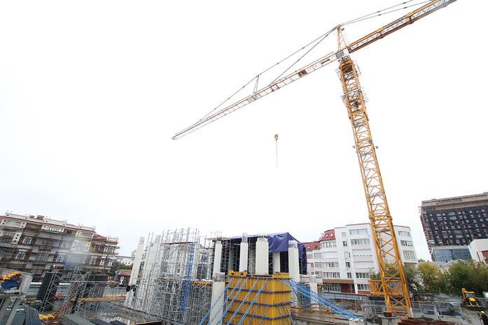 Изнанка штаб-квартиры РМК: Как строят первый в России объект Нормана Фостера / ФОТО 15