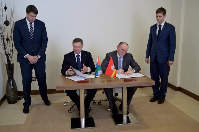 Губернаторы Челябинской и Тюменской областей подписали соглашение о сотрудничестве 1