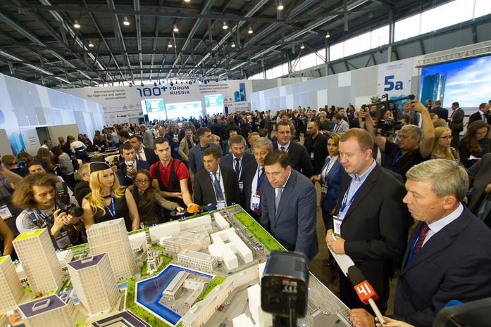 Подземные улицы, новый Екатеринбург-Сити и 75 тыс. евро за проект. Итоги 100+ Forum Russia 2