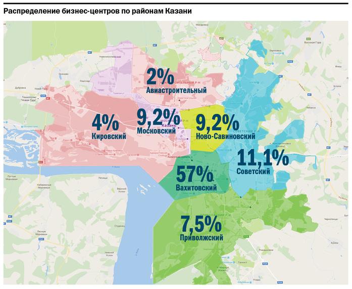 Сколько стоит ваш офис: карта цен на аренду офисных помещений в Казани //ИНФОГРАФИКА 2