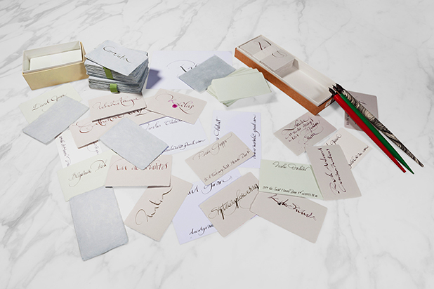Письмо как искусство: как и чем живет самый известный в мире каллиграф Николя Ушенир 2