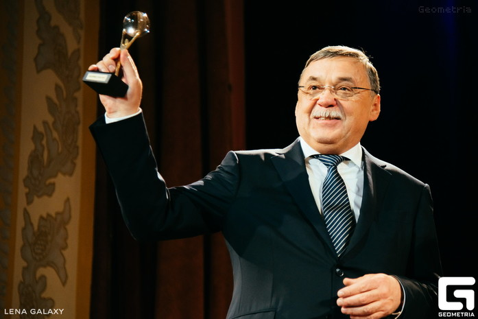 Премия «Человек года» попала в объектив проекта Geometria 5