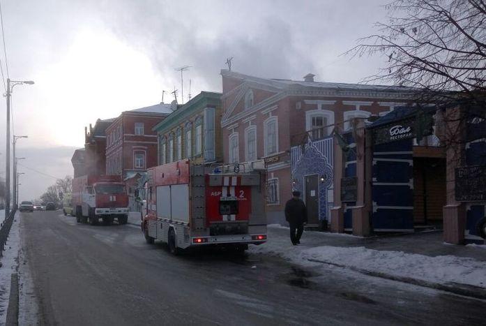 В Старо-Татарской слободе Казани произошёл пожар в гостинице, один человек погиб 1
