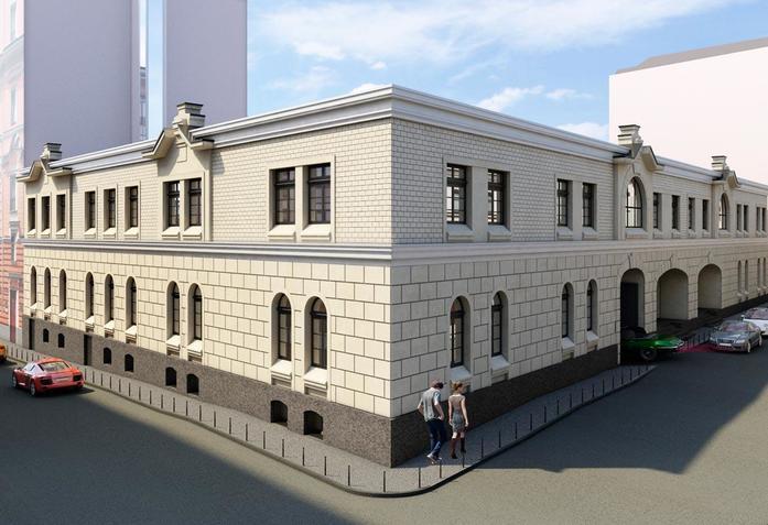 Архитектурные доминанты центральных районов Москвы 2