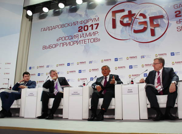Рустам Минниханов выступил в Москве против «раскулачивания» регионов-доноров 1