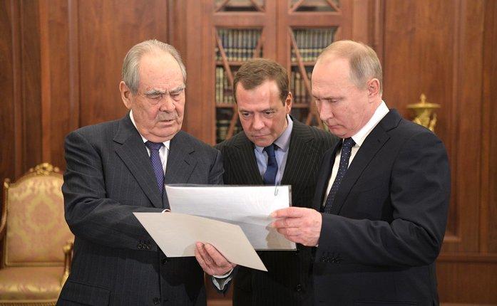 В Кремле состоялась встреча Минтимера Шаймиева с Владимиром Путиным 1