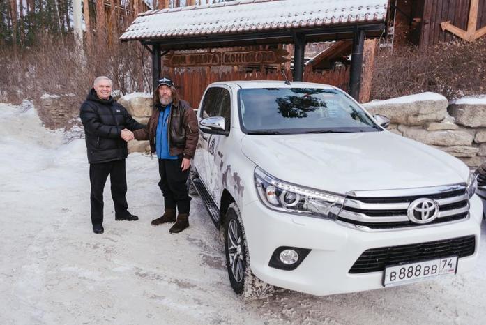 Toyota Hilux и Федор Конюхов устанавливают новый мировой рекорд 3