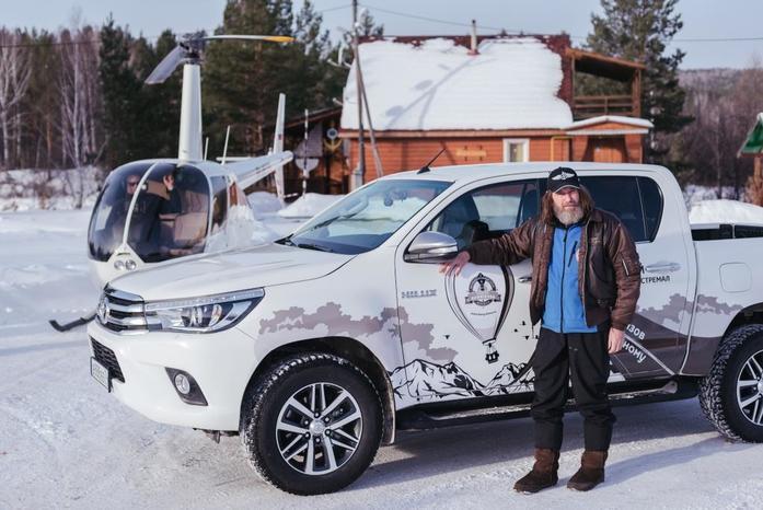 Toyota Hilux и Федор Конюхов устанавливают новый мировой рекорд 1