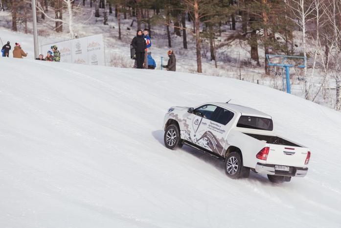 Toyota Hilux и Федор Конюхов устанавливают новый мировой рекорд 4