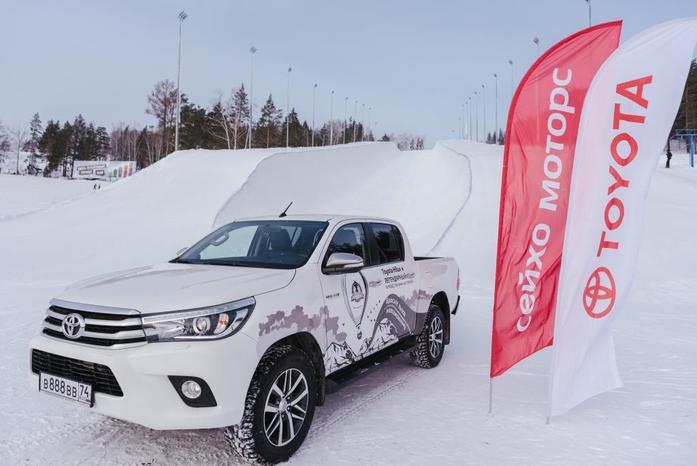 Toyota Hilux и Федор Конюхов устанавливают новый мировой рекорд 2