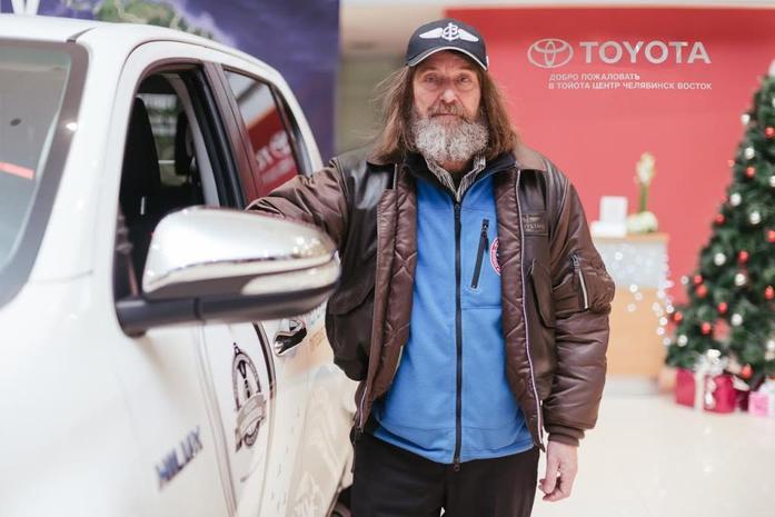 Toyota Hilux и Федор Конюхов устанавливают новый мировой рекорд 5