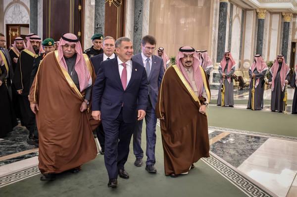 Рустам Минниханов пригласил короля Саудовской Аравии в Татарстан 1