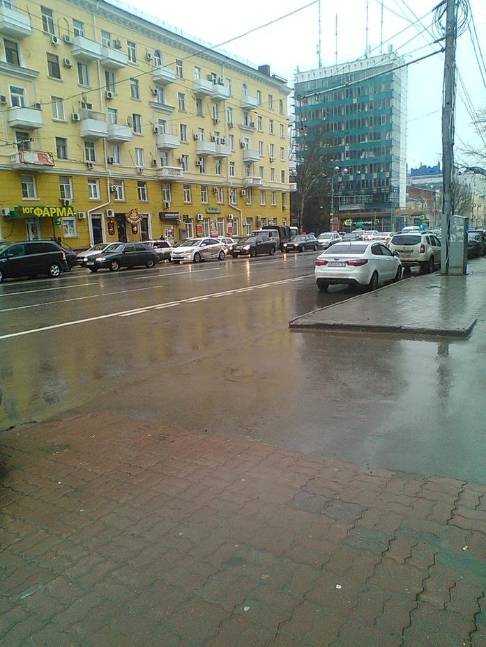 Непогода в Ростове парализовала движение ФОТО 2