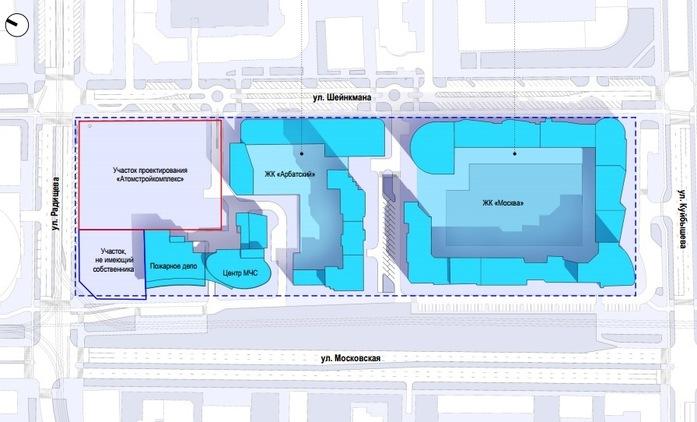 «Атомстройкомплекс» показал новый флагманский проект вместо замороженного Opera Tower 1