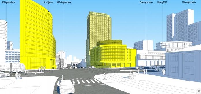 «Атомстройкомплекс» показал новый флагманский проект вместо замороженного Opera Tower 3