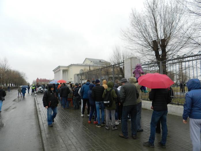 В Челябинске на митинге против ГОКа выступил Алексей Навальный 2
