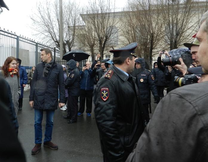 В Челябинске на митинге против ГОКа выступил Алексей Навальный 3