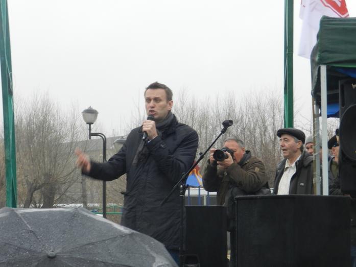 В Челябинске на митинге против ГОКа выступил Алексей Навальный 4
