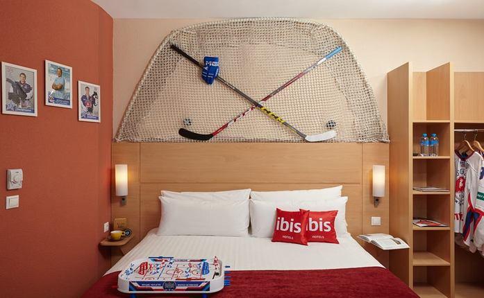 В нижегородской гостинице появился фирменный хоккейный номер 5