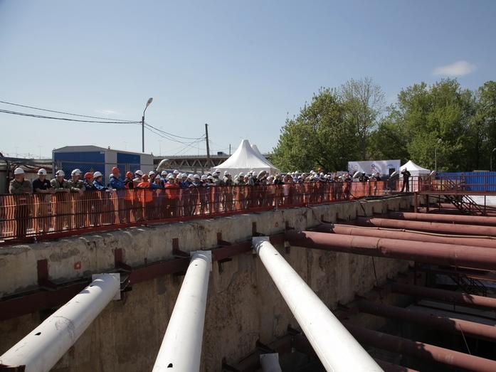 В Нижнем Новгороде завершён этап строительства новой станции метро 1