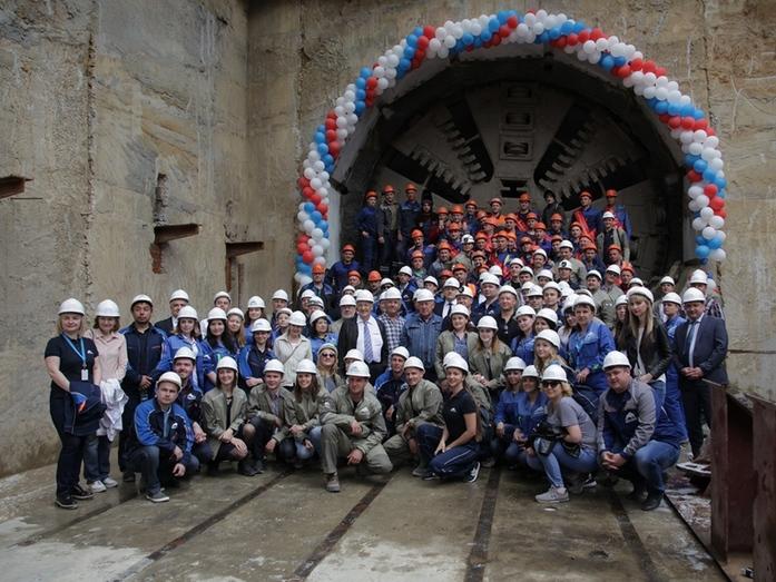 В Нижнем Новгороде завершён этап строительства новой станции метро 4