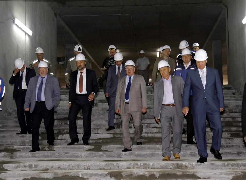 Новая станция метро в Нижнем Новгороде готова на 68%. ФОТО 1