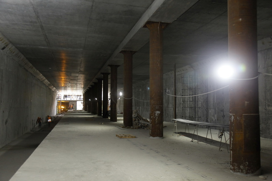 Новая станция метро в Нижнем Новгороде готова на 68%. ФОТО 4