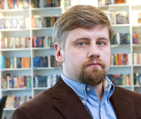 Мальцев Михаил, директор книжного магазина Пиотровский 1