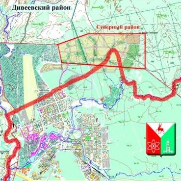 Территория Сарова увеличится почти на 3% за счет Мордовии и Дивеевского района 1